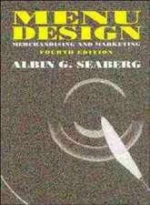 Menu Design: Merchandising and Marketing