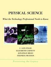 Physical Science: What the Technology Professional Needs to Know