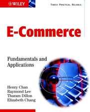 E–Commerce: Fundamentals and Applications