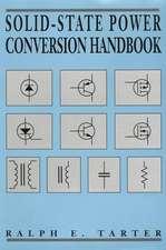 Solid–State Power Conversion Handbook
