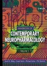 Handbook of Contemporary Neuropharmacology: 3 Volume Set