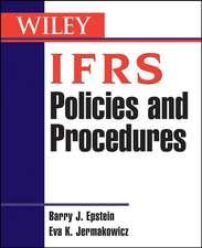 IFRS Policies and Procedures