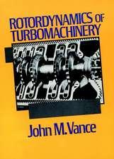 Rotordynamics of Turbomachinery