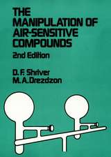 The Manipulation of Air–Sensitive Compounds