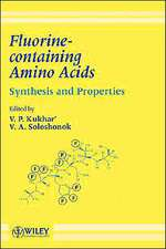 Fluorine–containing Amino Acids: Synthesis and Properties