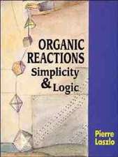 Organic Reactions: Simplicity and Logic