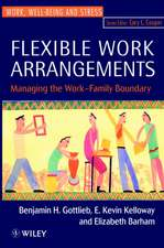 Flexible Work Arrangements: Managing the Work–Family Boundary