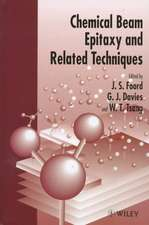 Chemical Beam Epitaxy and Related Techniques