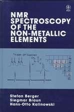 NMR Spectroscopy of the Non–Metallic Elements