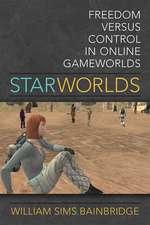 Star Worlds: Freedom Versus Control in Online Gameworlds