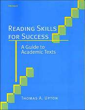 Reading Skills for Success: A Guide to Academic Texts