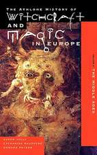 Witchcraft and Magic in Europe, Volume 3:  The Middle Ages