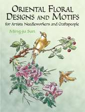 Oriental Floral Designs and Motifs:  For Artists, Needleworkers and Craftspeople