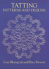 Tatting Patterns and Designs:  From Eighteenth-Century Sources