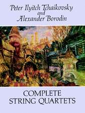 Complete String Quartets:  In Easy-To-Read-Type