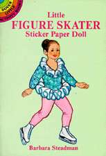 Little Figure Skater Sticker Paper Doll [With Stickers]