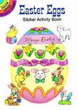Easter Eggs Sticker Activity Book