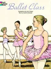 Ballet Class Coloring Book:  229 Different Copyright-Free Designs Printed One Side