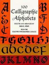 100 Calligraphic Alphabets
