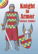 Knight in Armor Sticker Soldier