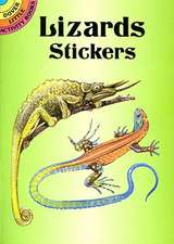 Lizards Stickers:  A Dual-Language Book