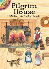 Pilgrim House Sticker Activity Book