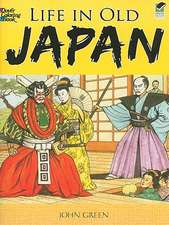 Life in Old Japan:  Coloring Book