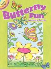 Butterfly Fun Activity Book