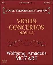 Violin Concertos Nos. 1-5:  With Separate Violin Part