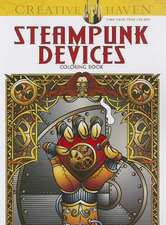 Steampunk Devices Coloring Book:  Write Your Own Crazy Comics #1