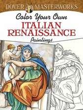 Color Your Own Italian Renaissance Paintings