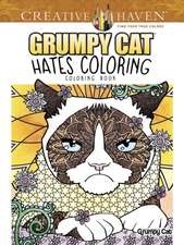 Creative Haven Grumpy Cat Hates Coloring
