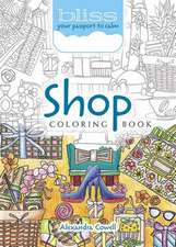 Bliss Shop Coloring Book