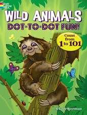 WILD ANIMALS DOT-TO-DOT FUN-AC