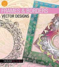 Frames and Borders Vector Designs [With CDROM]