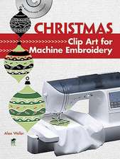 Christmas Clip Art for Machine Embroidery [With CDROM]