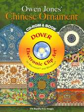 Owen Jones' Chinese Ornament [With CDROM]