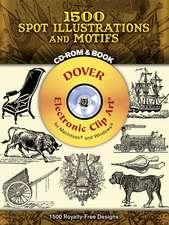 1500 Spot Illustrations and Motifs