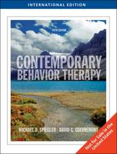 Contemporary Behavior Therapy, International Edition