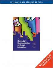 Nonverbal Communication in Human Interaction, International Edition