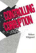 Controlling Corruption (Paper)