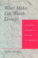 What Makes Life Worth Living? – How Japanese & Americans Make Sense of their Worlds (Paper)