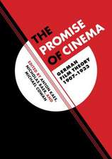 The Promise of Cinema – Film Theory in Germany, 1907–1933