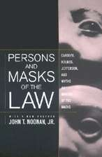 Persons & Masks of the Law – Cardozo, Holmes, Jefferson & Wythe as Makers of the Masks