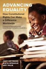 Advancing Equality – How Constitutional Rights Can Make a Difference Worldwide