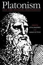 Platonism and the English Imagination