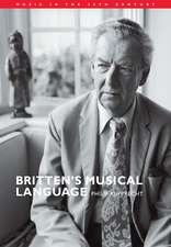 Britten's Musical Language