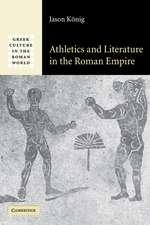 Athletics and Literature in the Roman Empire