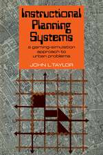 Instructional Planning Systems: A Gaming-Simulation Approach to Urban Problems