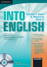 Into English Level 2 Teacher's Test and Resource Book with CD Extra Italian Edition